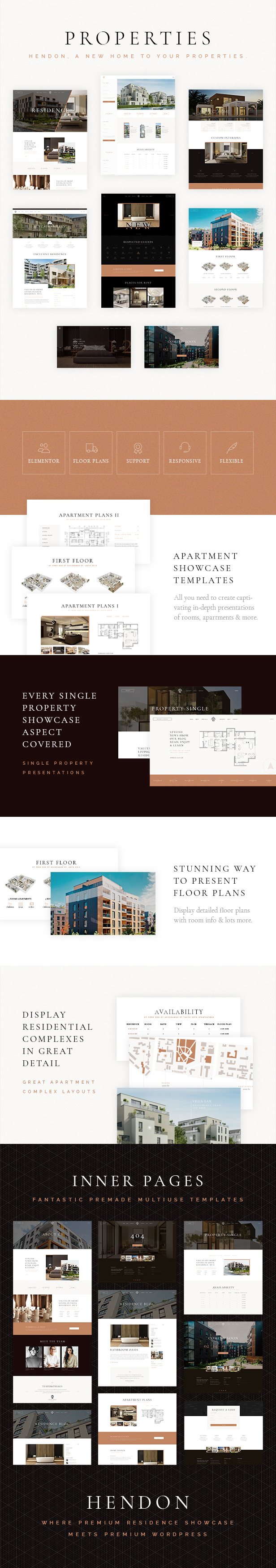 Hendon - Single Property and Apartment Complex Theme - 2